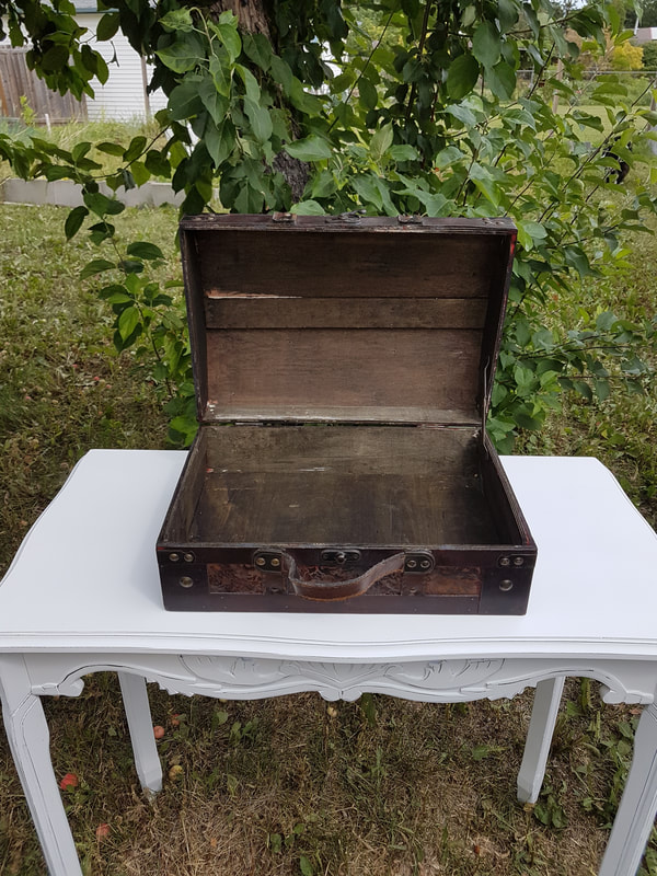 Wooden Suitcase